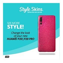 Huawei P20/P20 Pro Style Skins Pink Glisten Acrylic Flyer (8.5x11)